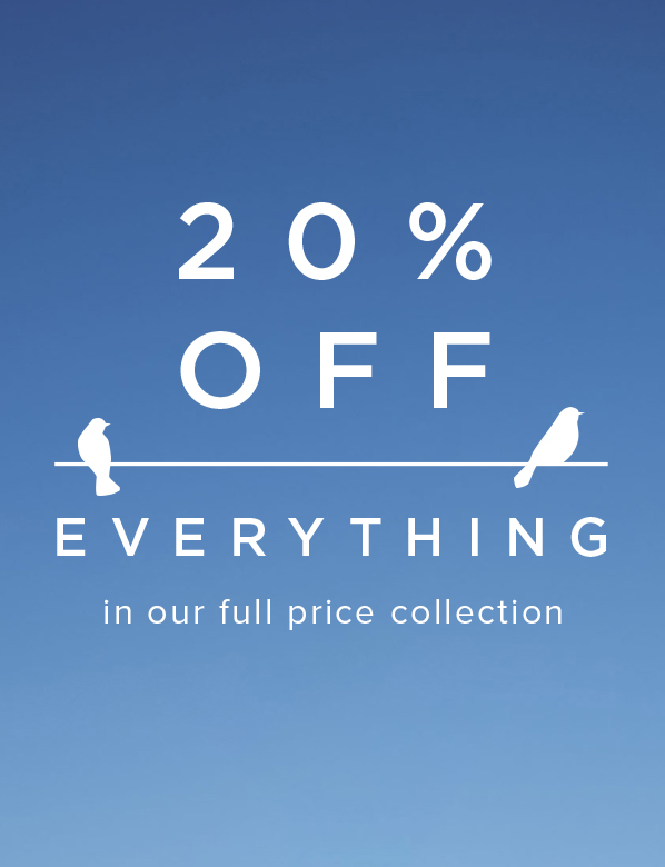 20 percent Off Everything