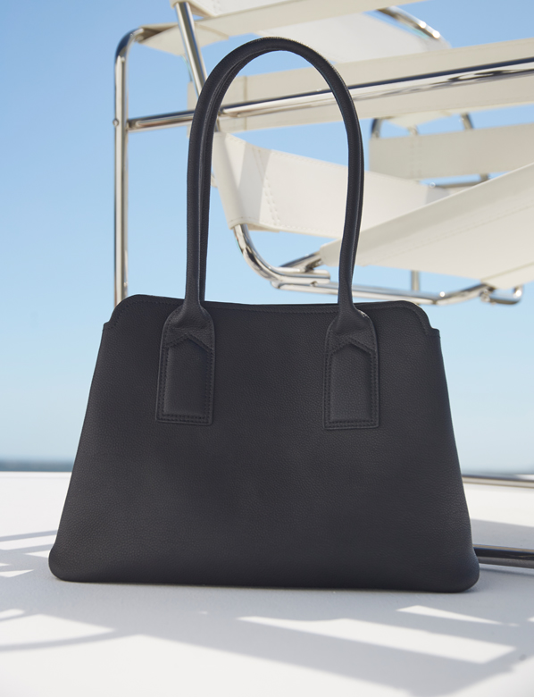 Hobbs women's fashion, Black Work Tote Bag.