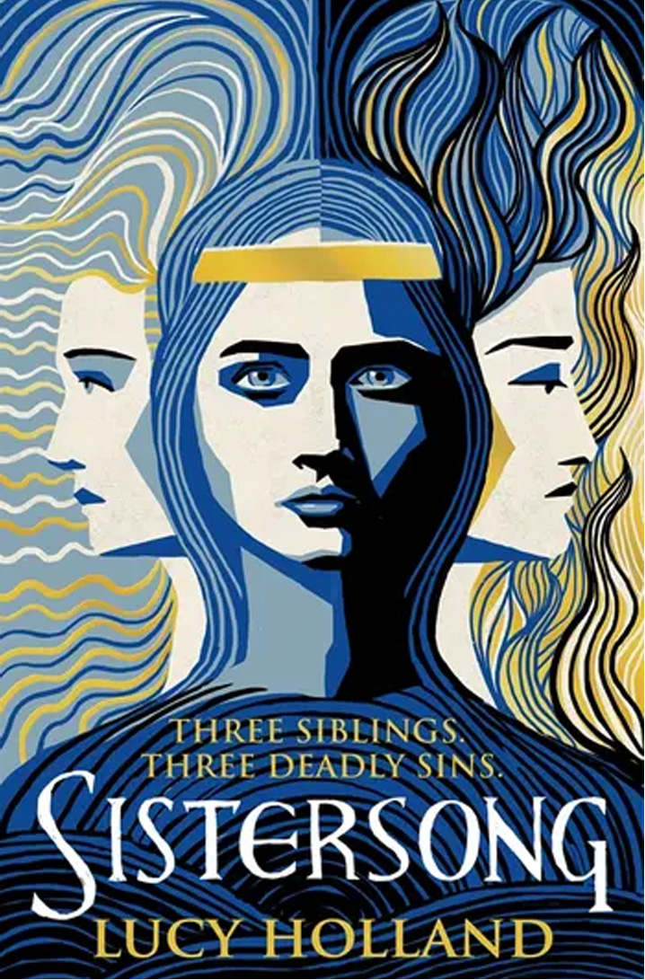 The cover of Sistersong by Lucy Holland.