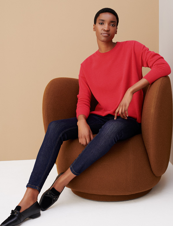Red Jumper On Chair