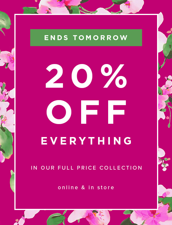 Ends Tomorrow: Hobbs 20% Off Full Price Shoes
