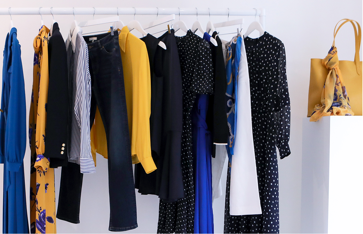 How To Do A Wardrobe Switchover with Hobbs Brand Stylist, Maddy Moxham