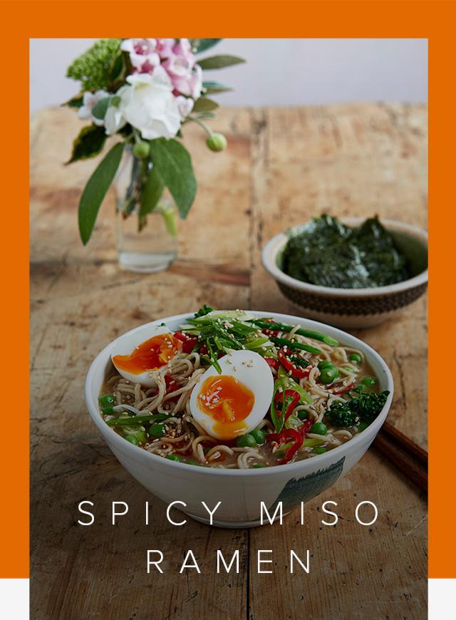 Signe Johansen's Spicy Miso Ramen