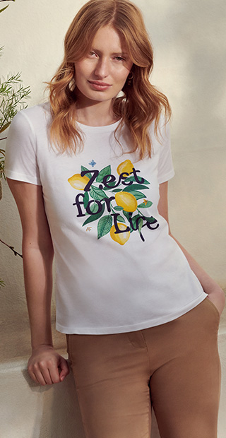 Summer T-Shirt White