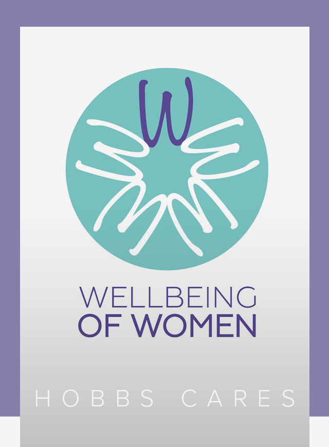Wellbeing Of Women Charity Logo.