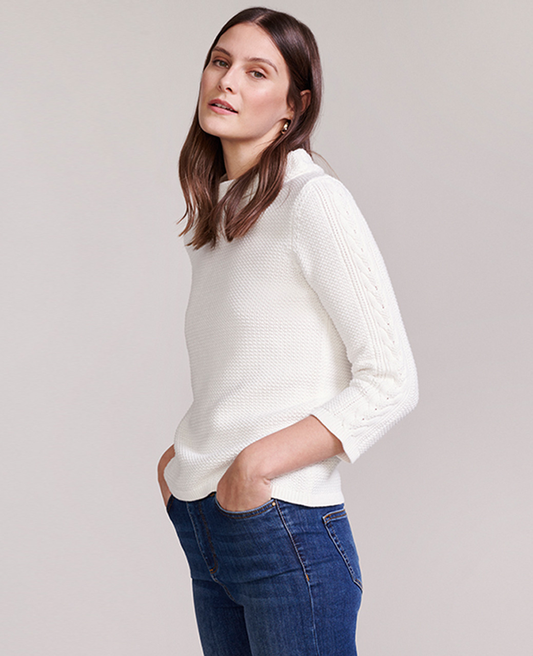 Ivory Jumper Outfit