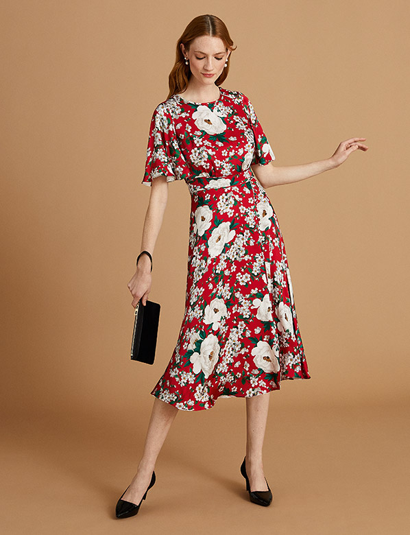 Occasion Dress Complete Outfit