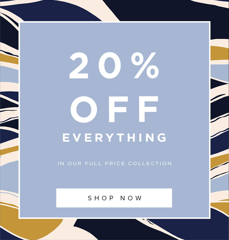 20% Off Everything Full Price