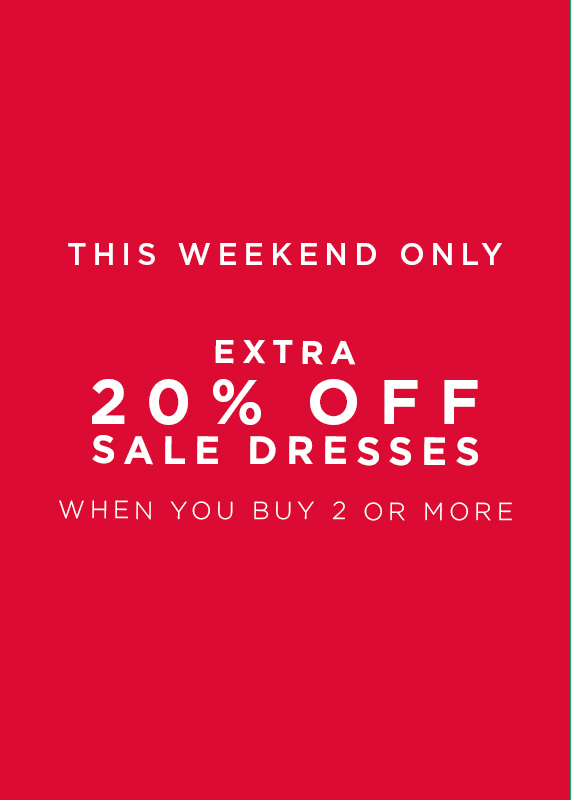 Buy 2 Or More Sale Dresses And Save 20 Percent