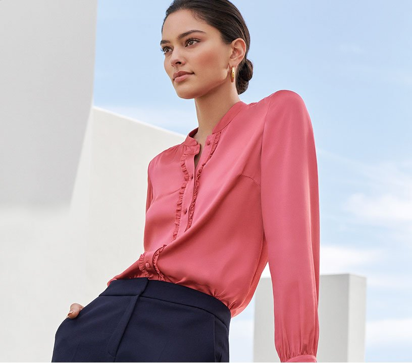 Pink Occasion Blouse
