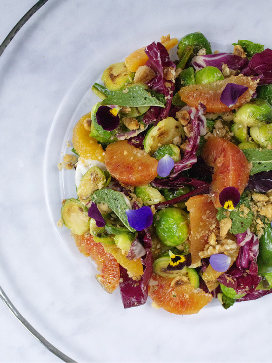 The Social Pantry's Spring Sprout & Orange Salad