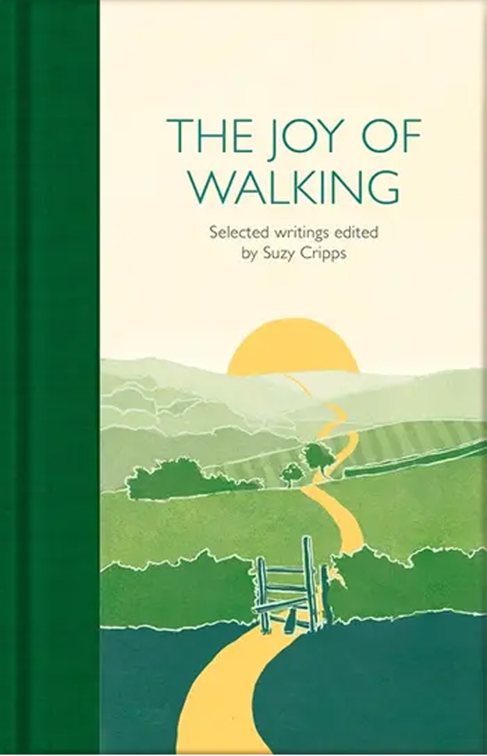 The cover of The Joy of Walking by Suzy Cripps.