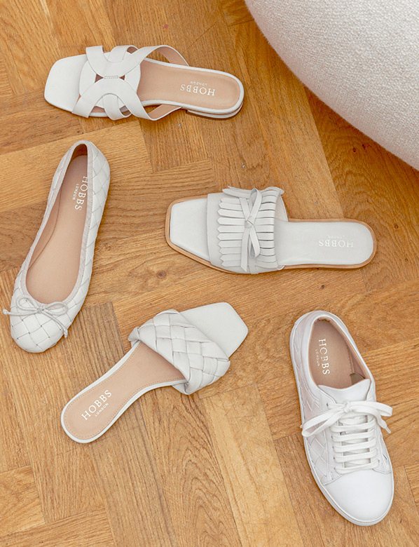 Assorted White Summer Shoes
