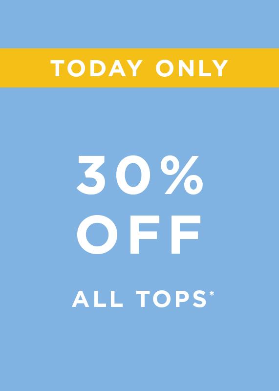 30 Percent of all tops