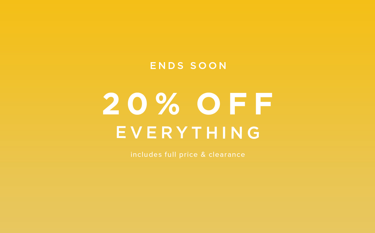 20 Percent Off Casual Clothing