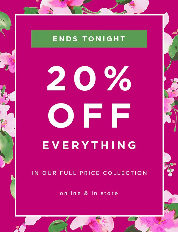 Ends Tonight: Hobbs 20% Off Full Price Accessories