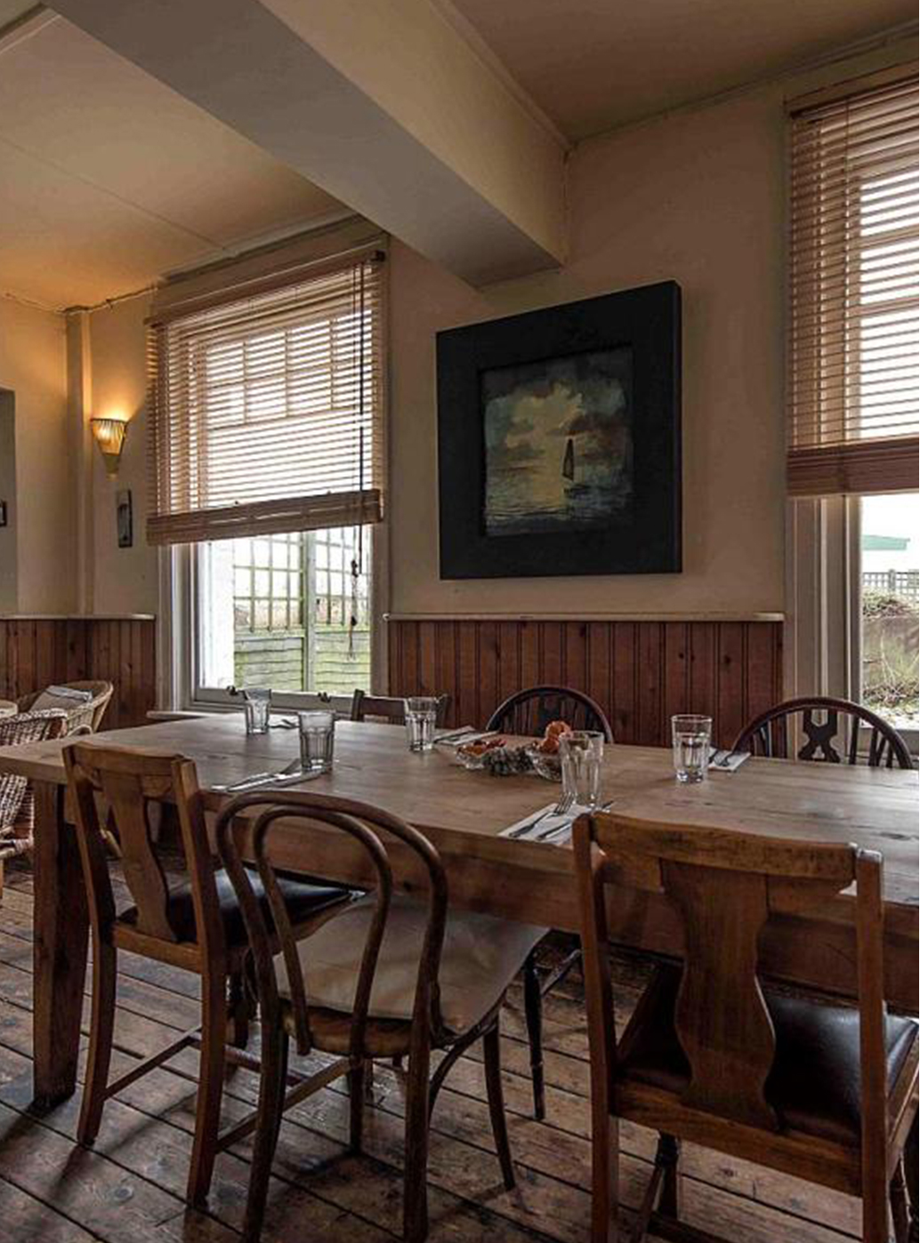 The Sportsman is no ordinary pub, this michelin starred restaurant is not to be missed.