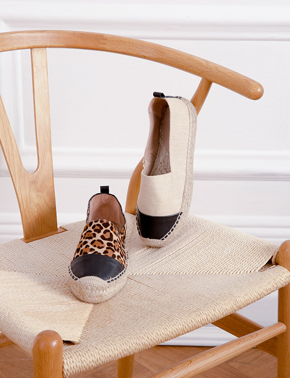 Printed and Plain Espadrilles