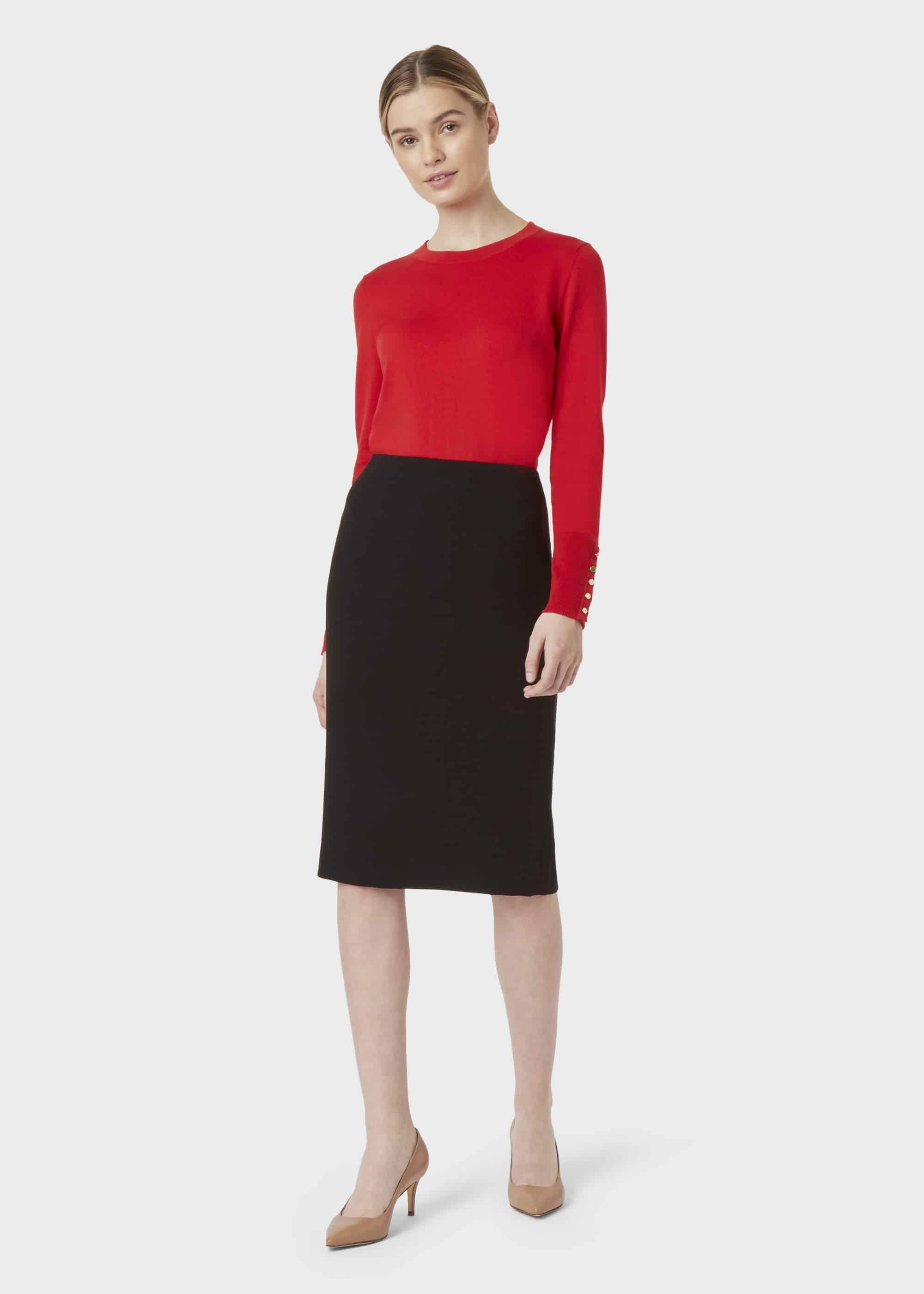 Hobbs Women Petite Alva Pencil Skirt
