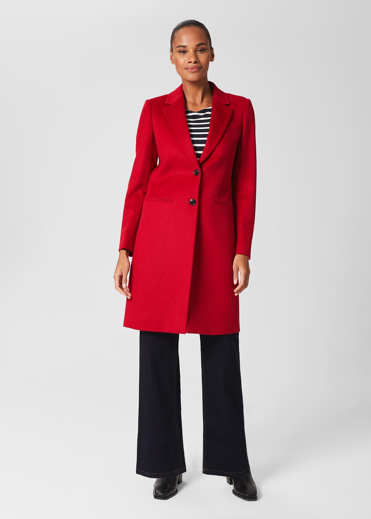 Hobbs Women Tilda Wool Coat