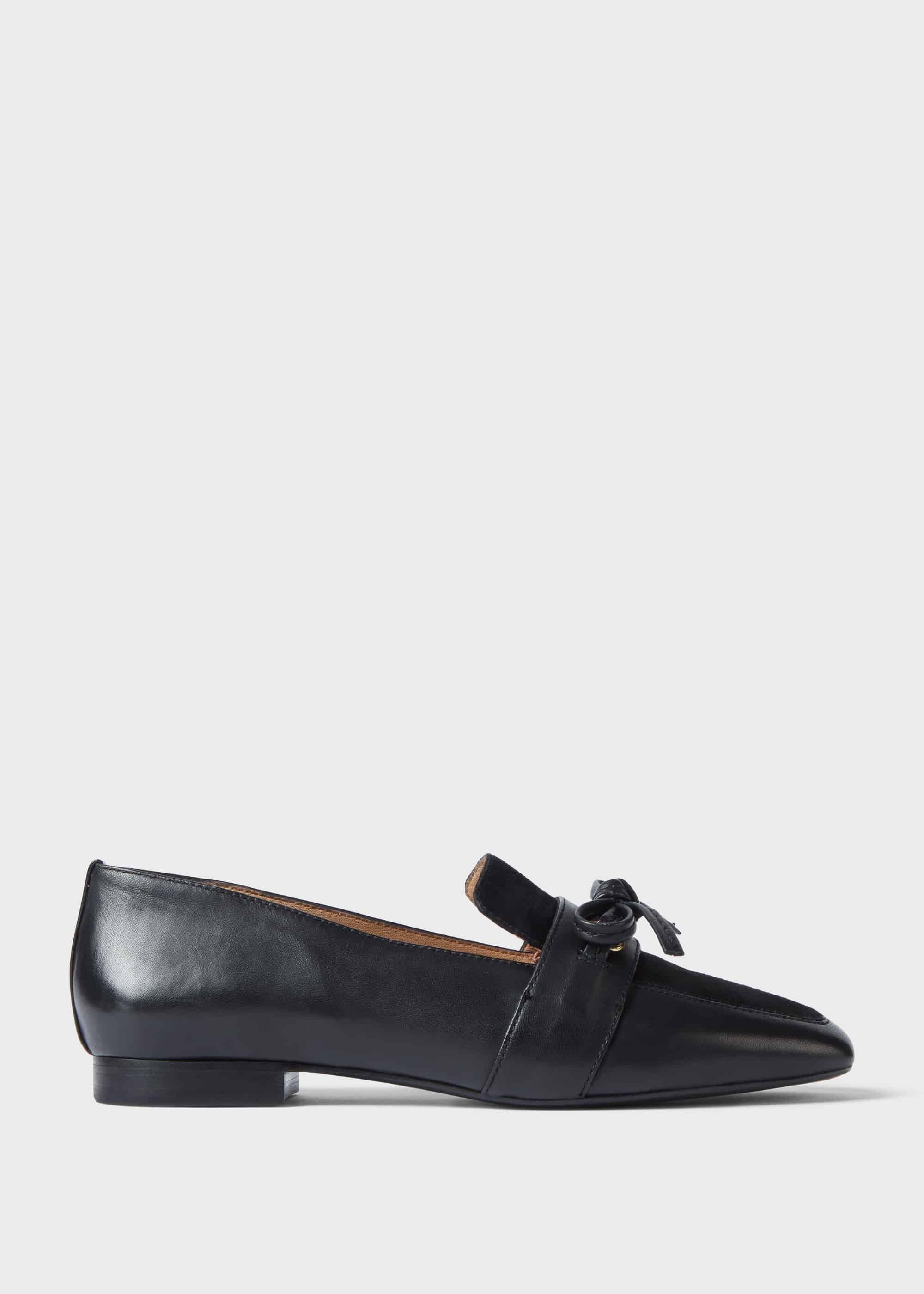 Hobbs Women Lauren Leather Flat Shoes