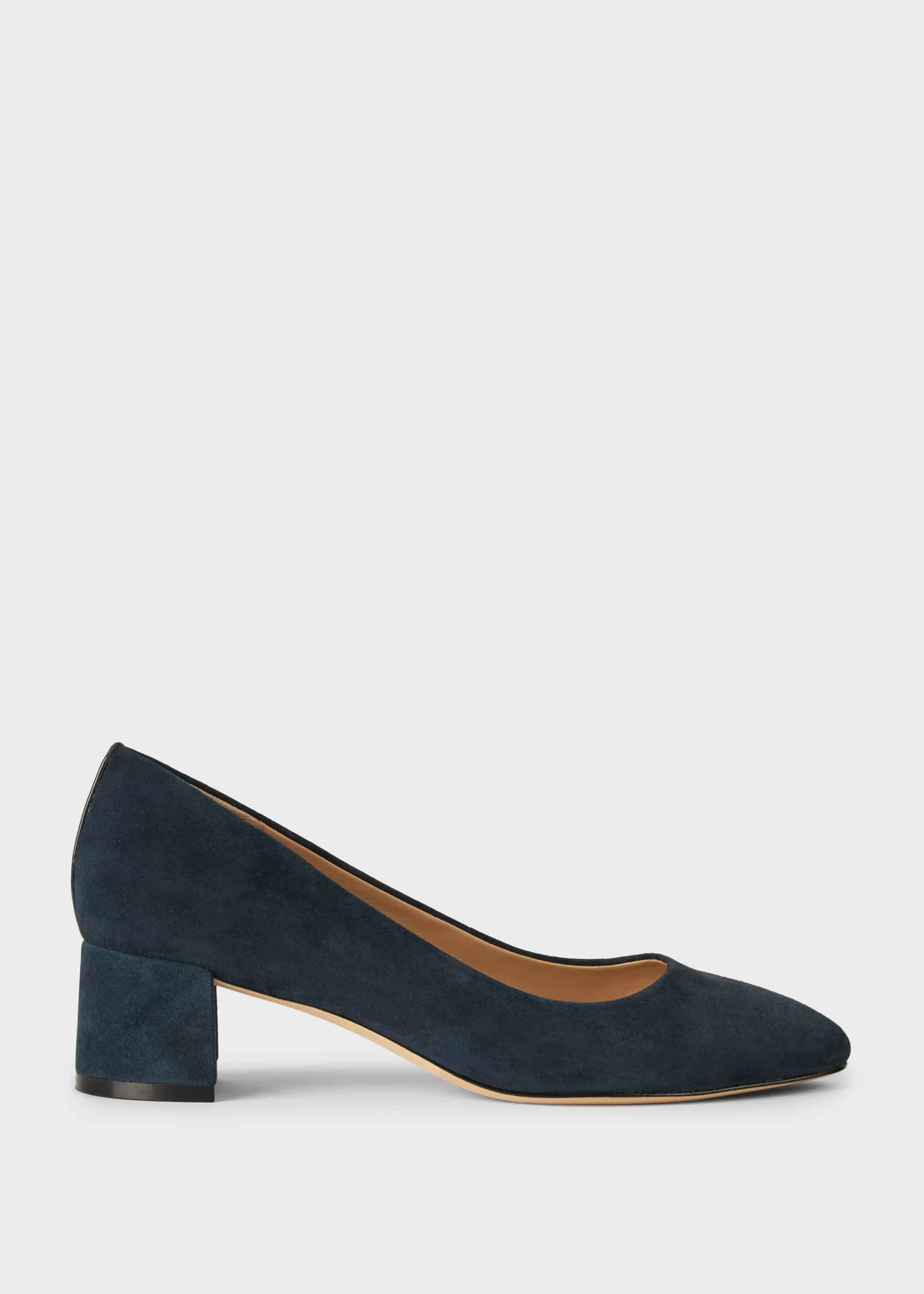 Hobbs Women Abbey Suede Court Shoes