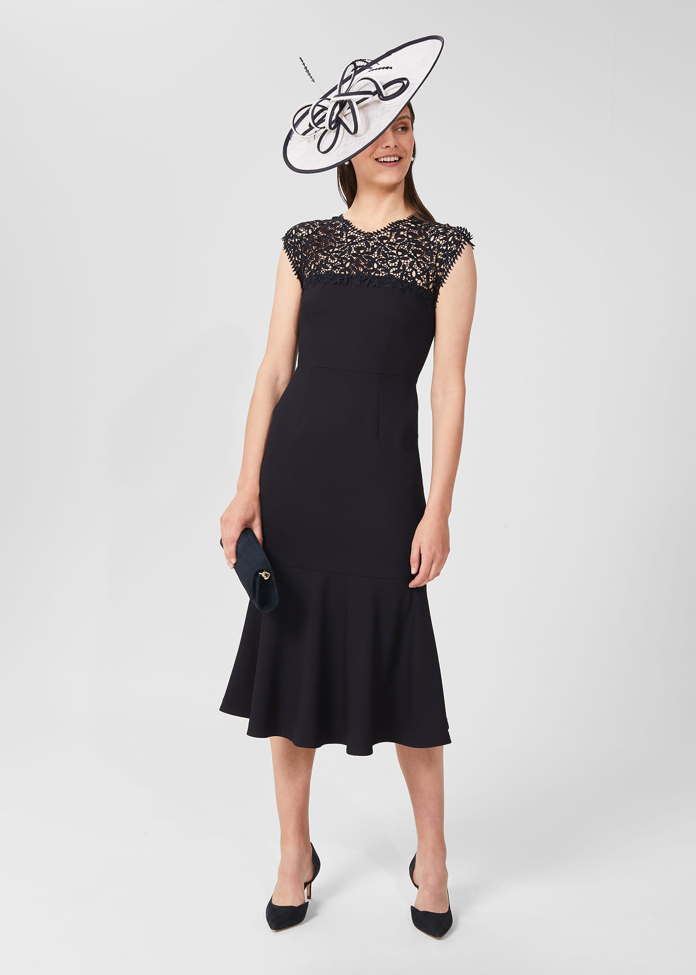 Hobbs Women Cecilia Lace Dress