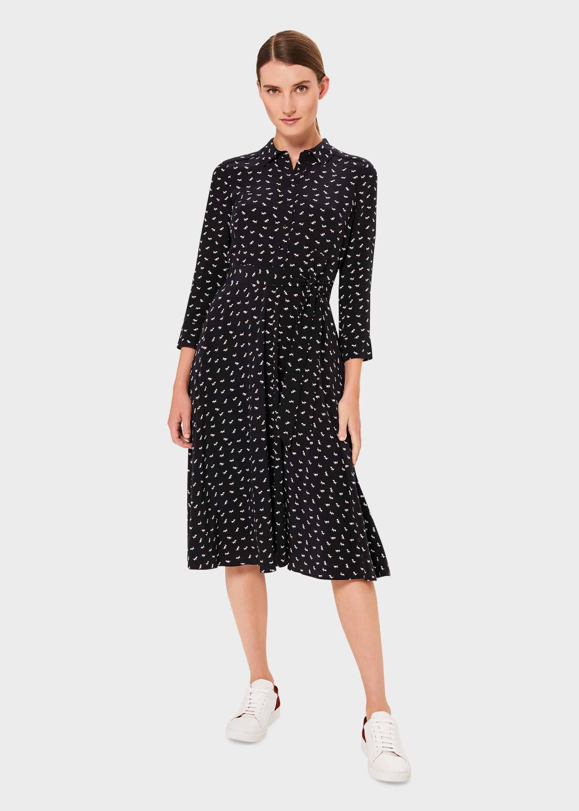 Hobbs Women Petite Emmaline Midi Dress