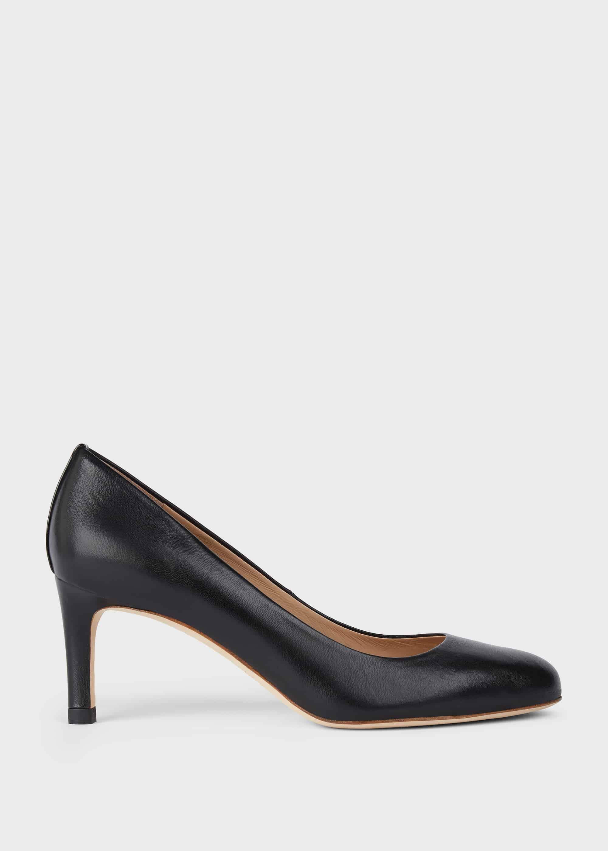 Hobbs Women Lizzie Leather Stiletto Court Shoes
