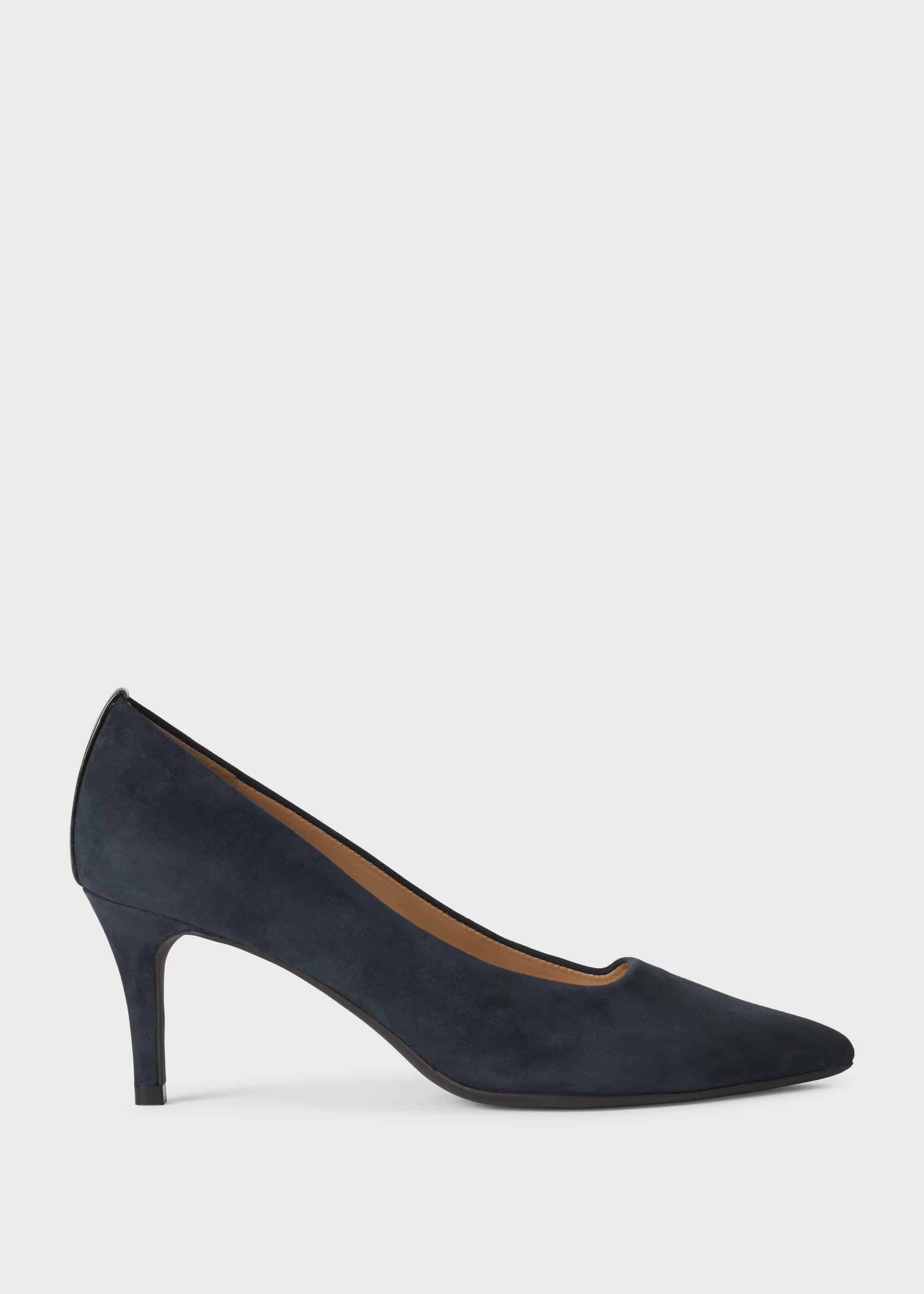 Hobbs Women Amy Suede Court Shoes