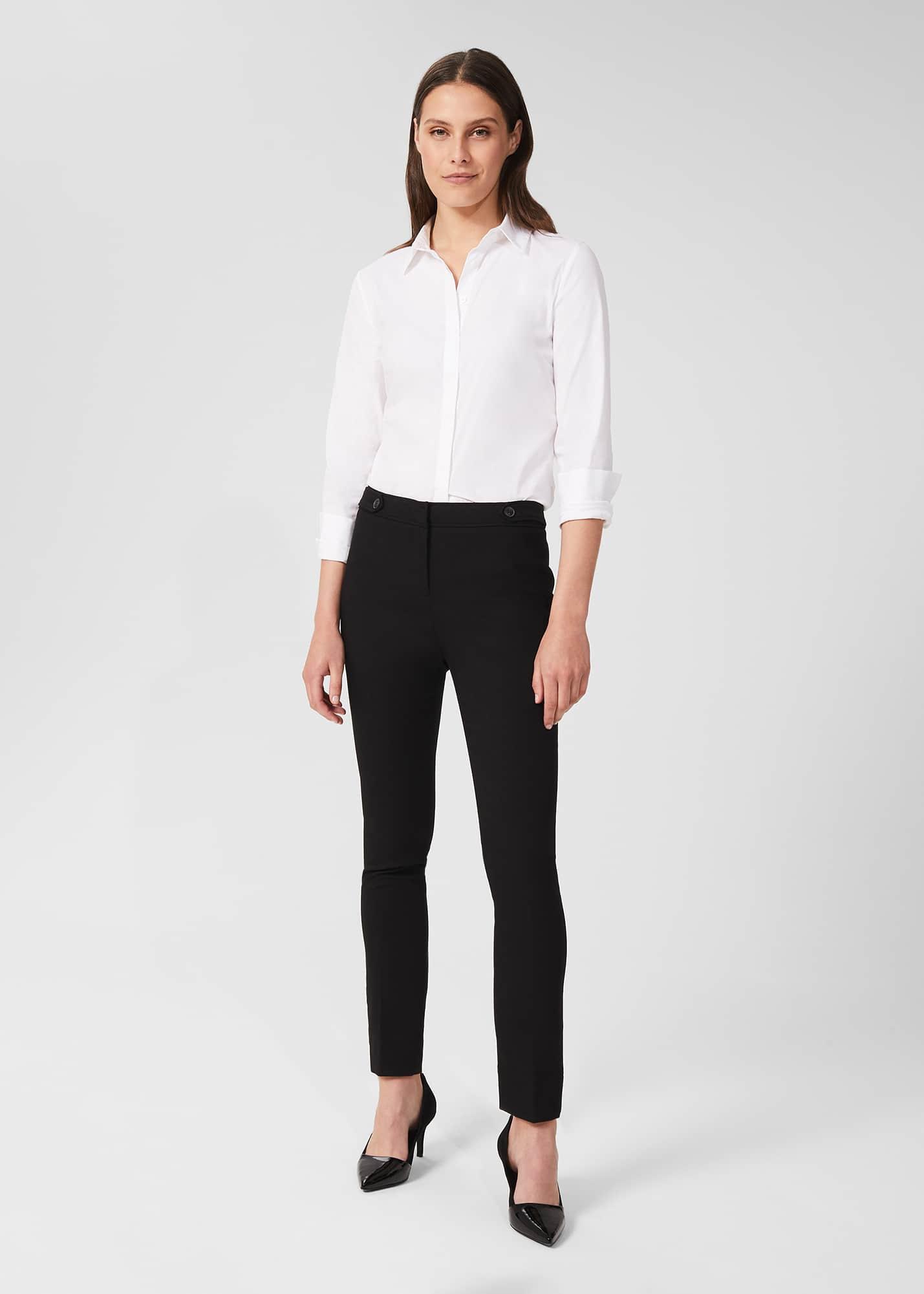 Hobbs Women Petite Luca Slim Trousers