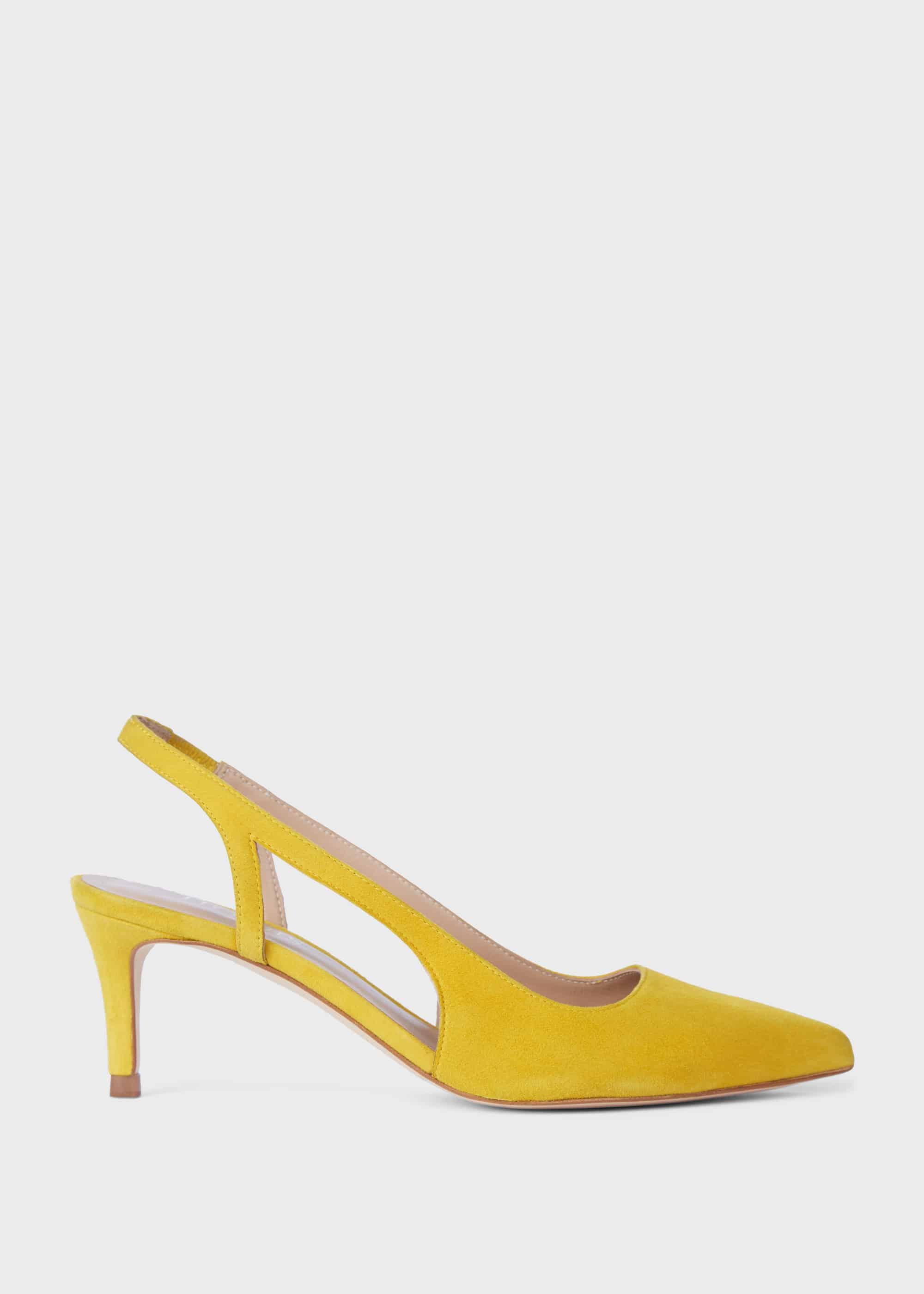 Hobbs Women Cleo Suede Slingback Shoes