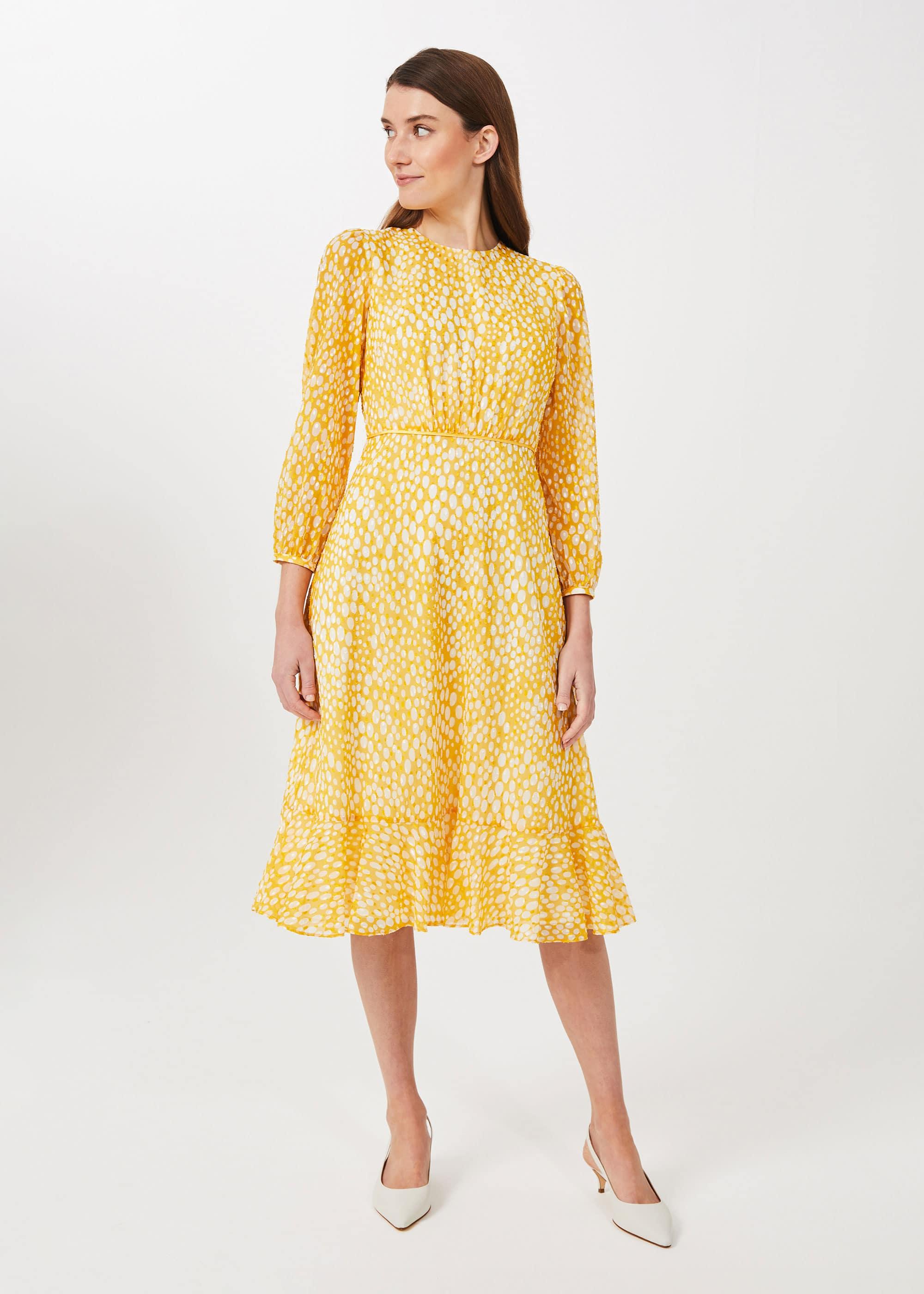 Hobbs Women Lexi Jacquard Dress