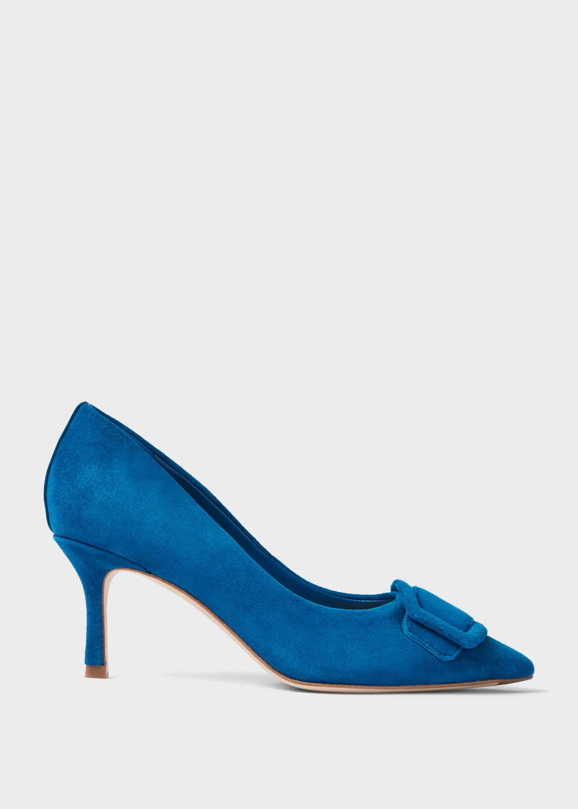 Hobbs Women Alison Suede Stiletto Court Shoes