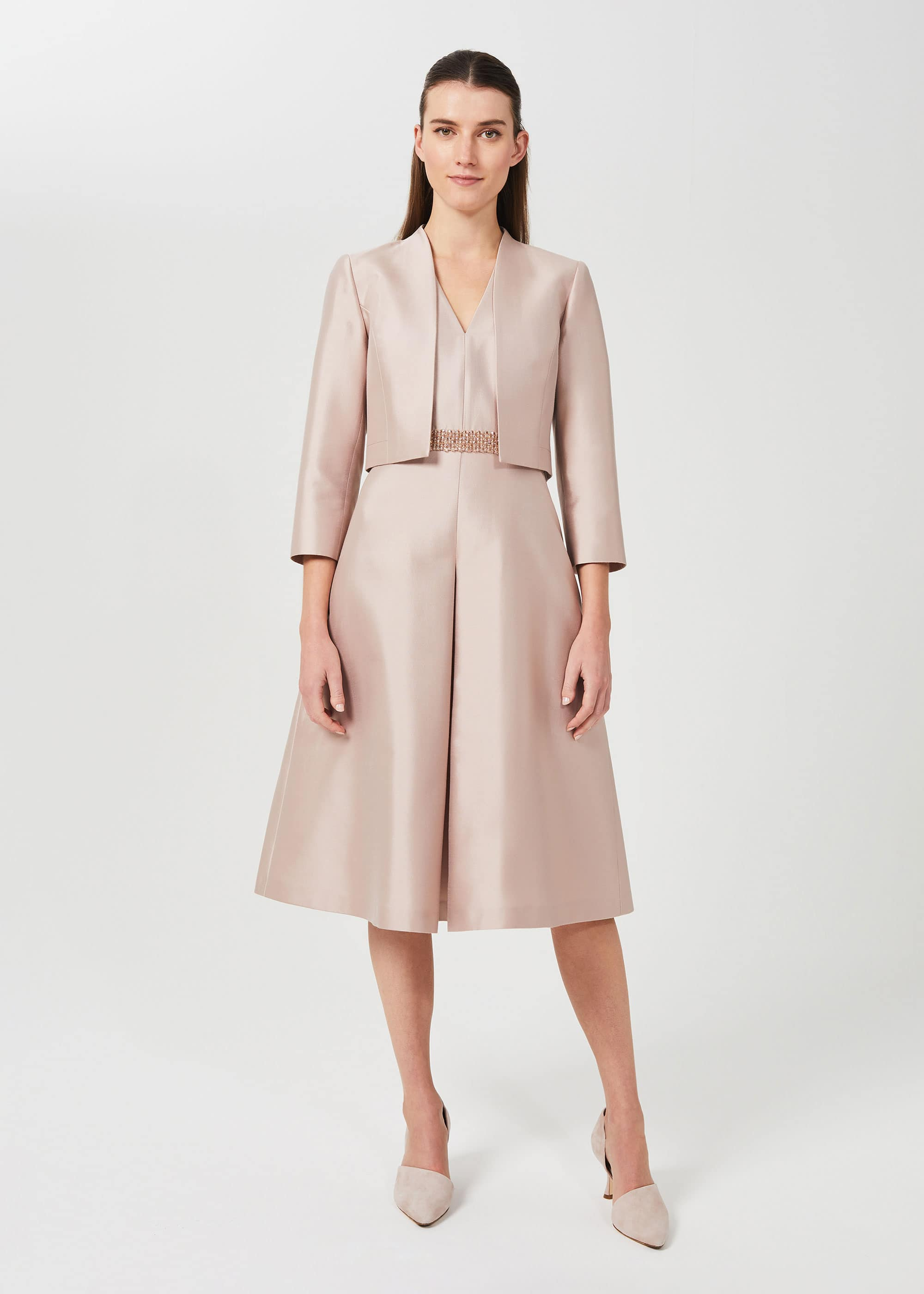 Hobbs Women Alberta Silk Wool Jacket