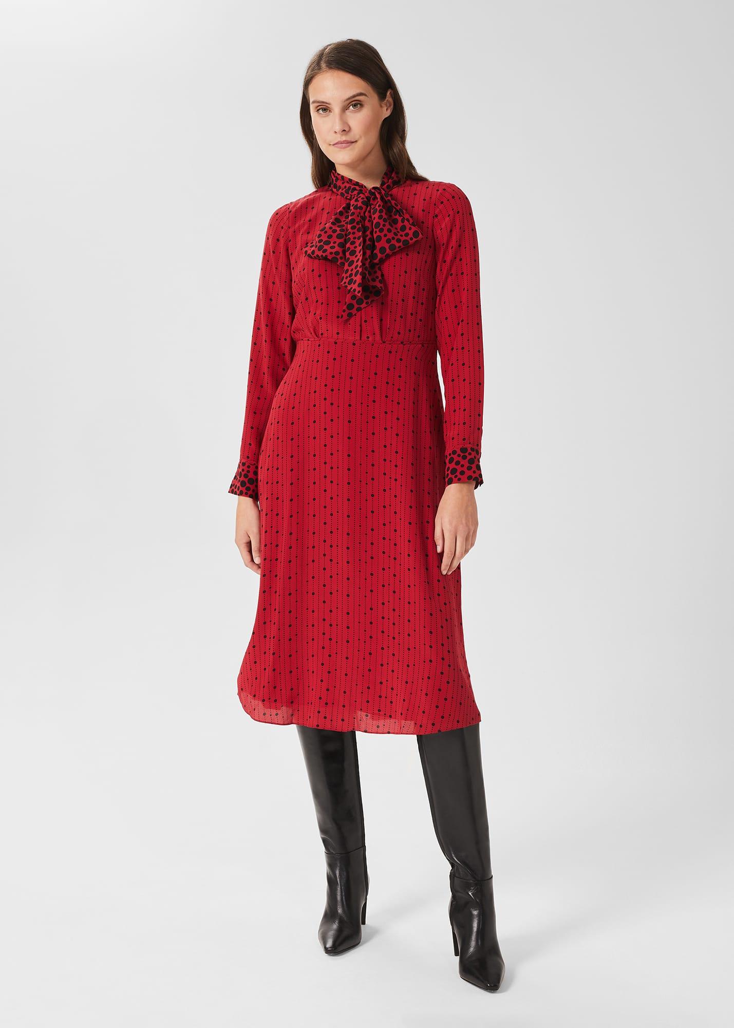 Hobbs Women Maribella Silk Dress