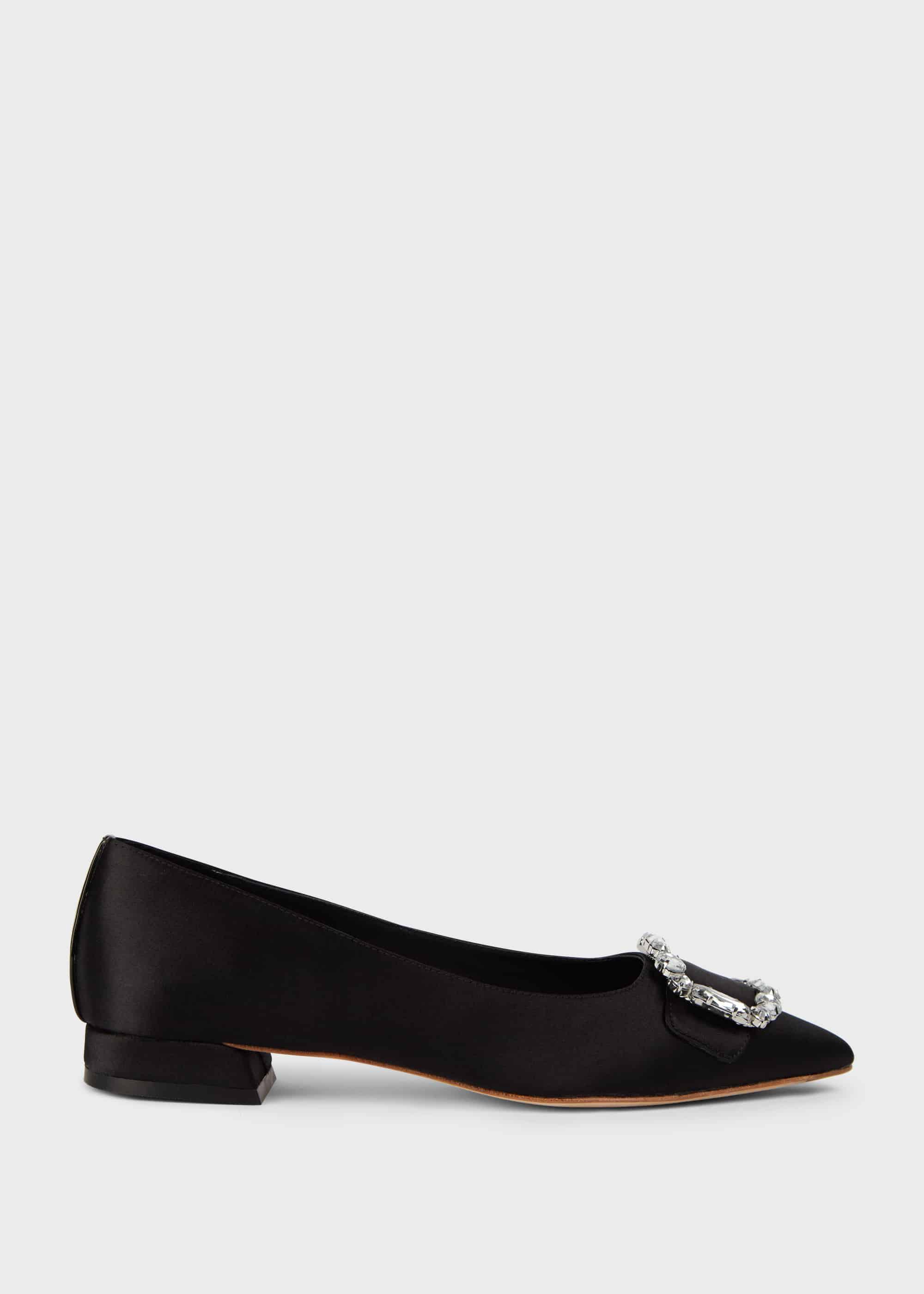 Hobbs Women Lucinda Suede Flat Shoes