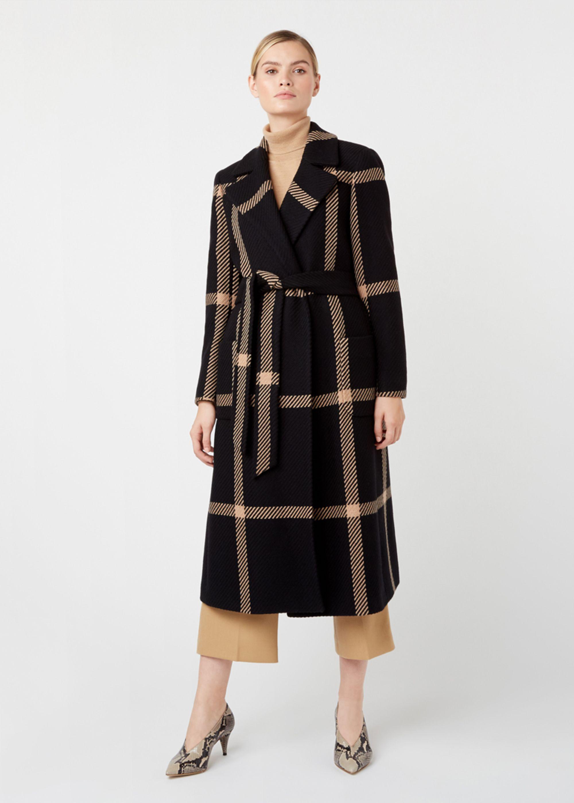 Hobbs Women Florina Wool Blend Coat