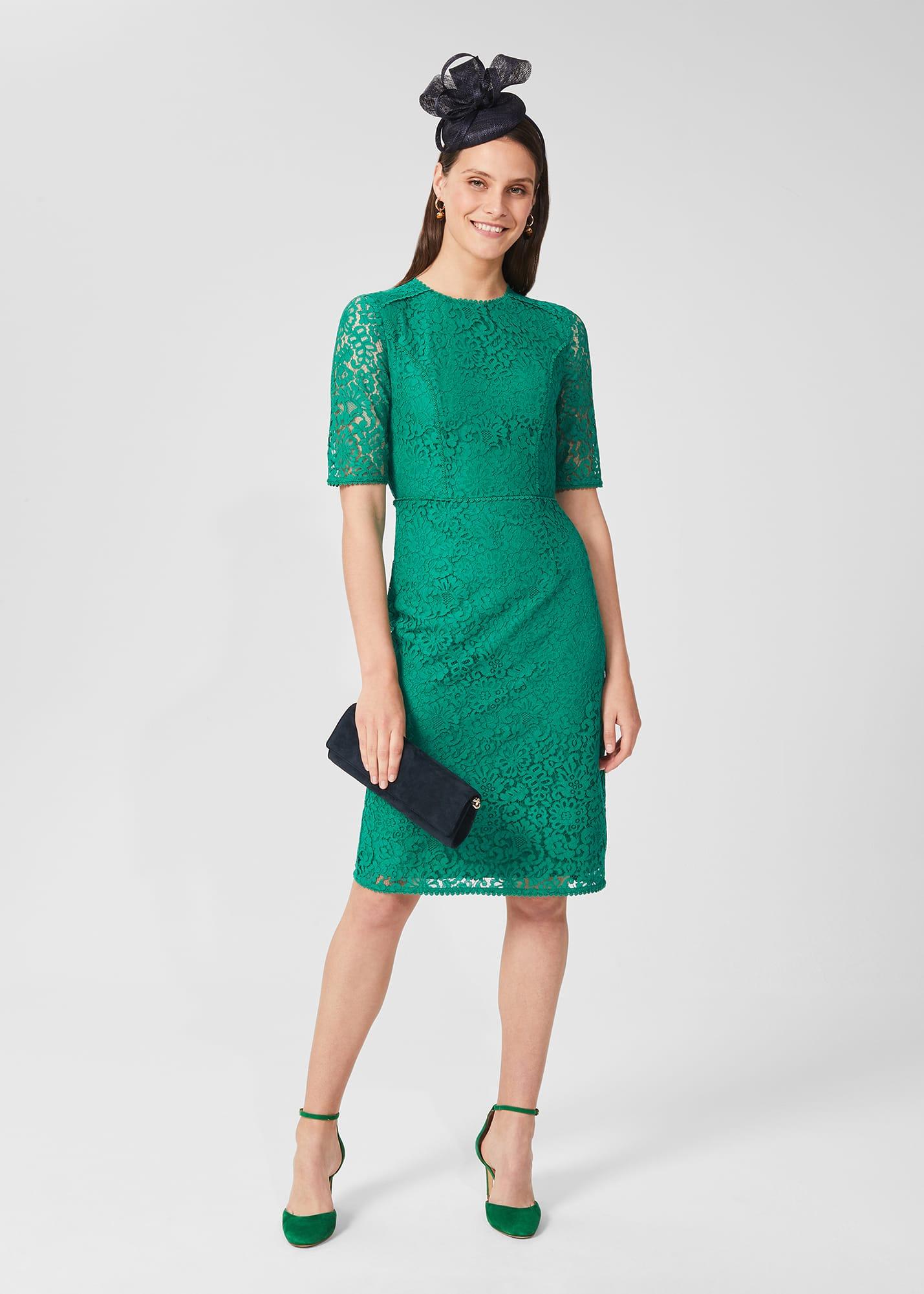 Hobbs Women Penny Lace Shift Dress