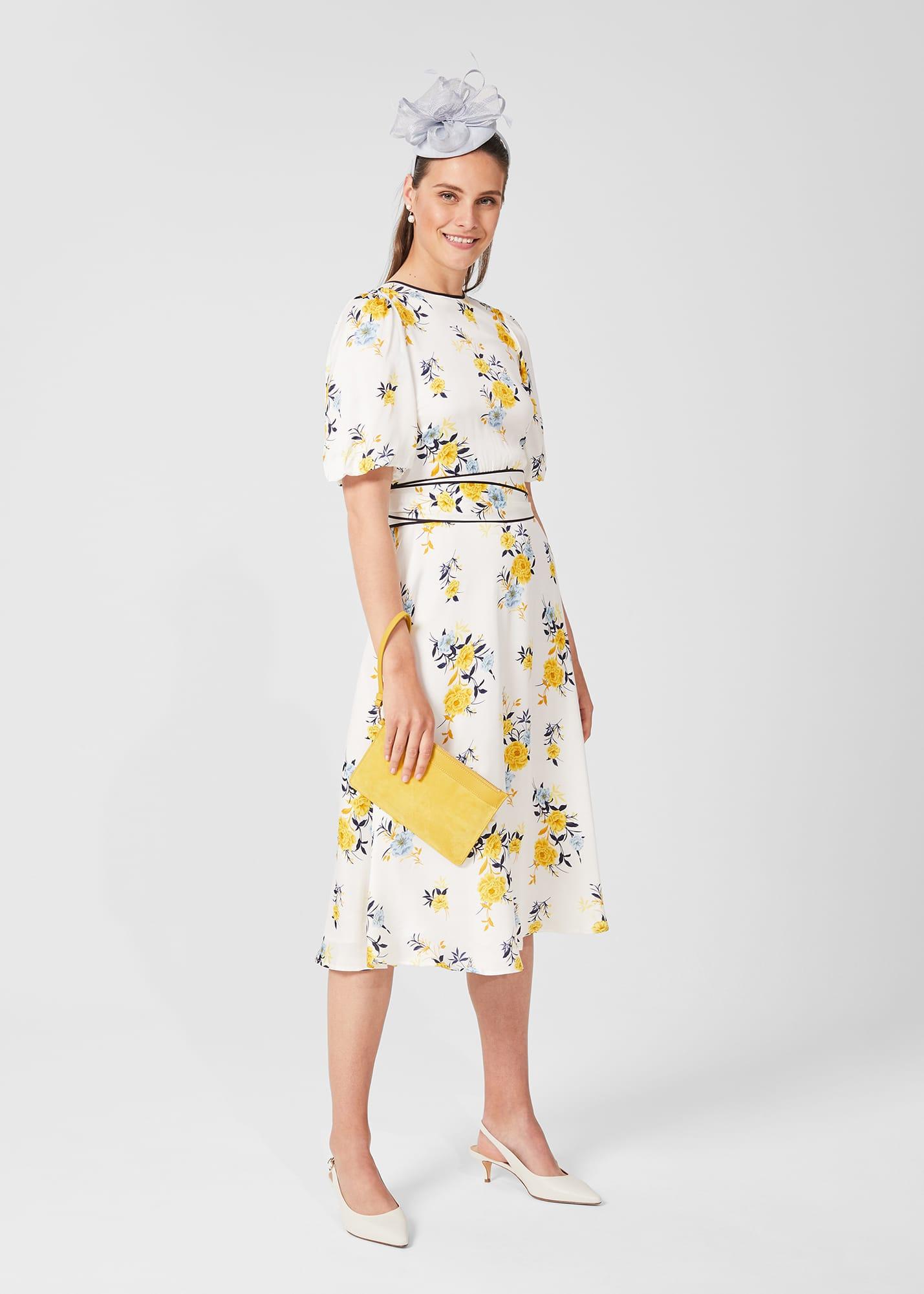Hobbs Women Lana Floral Midi Dress