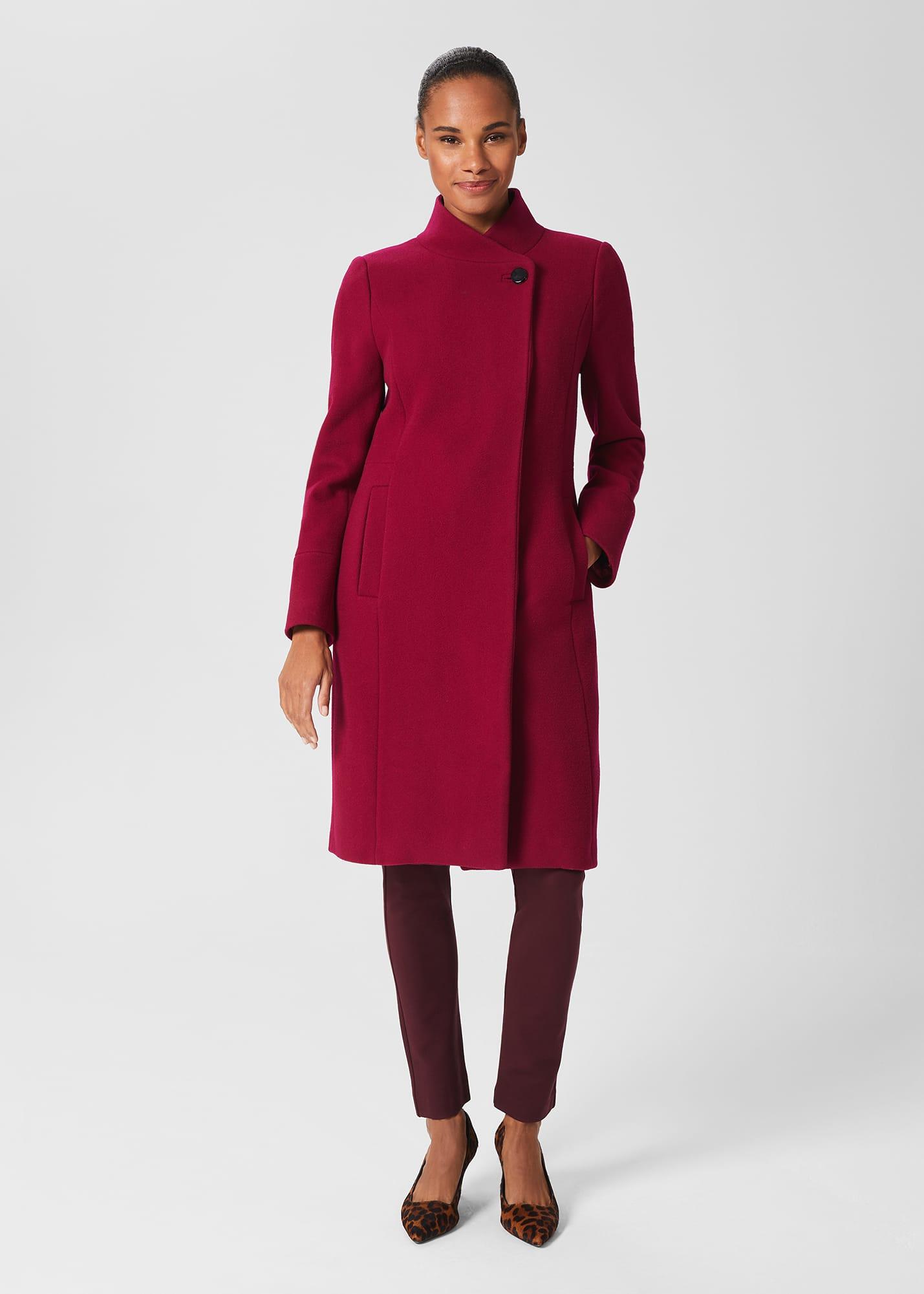 Hobbs Women Maisie Wool Blend Coat