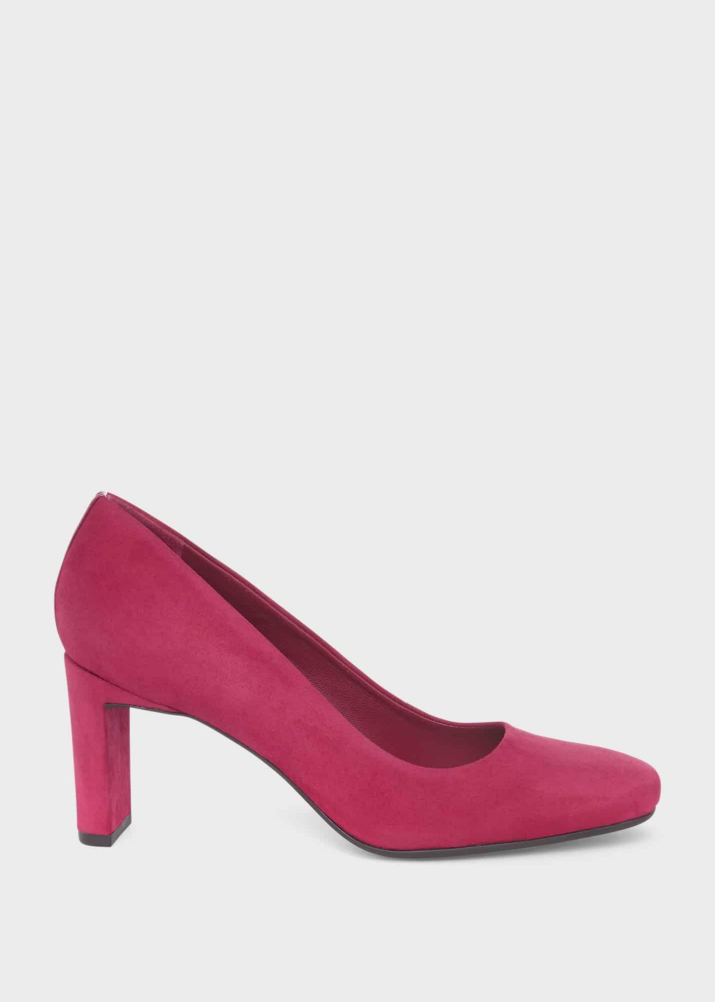 Hobbs Women Ella Suede Court Shoes