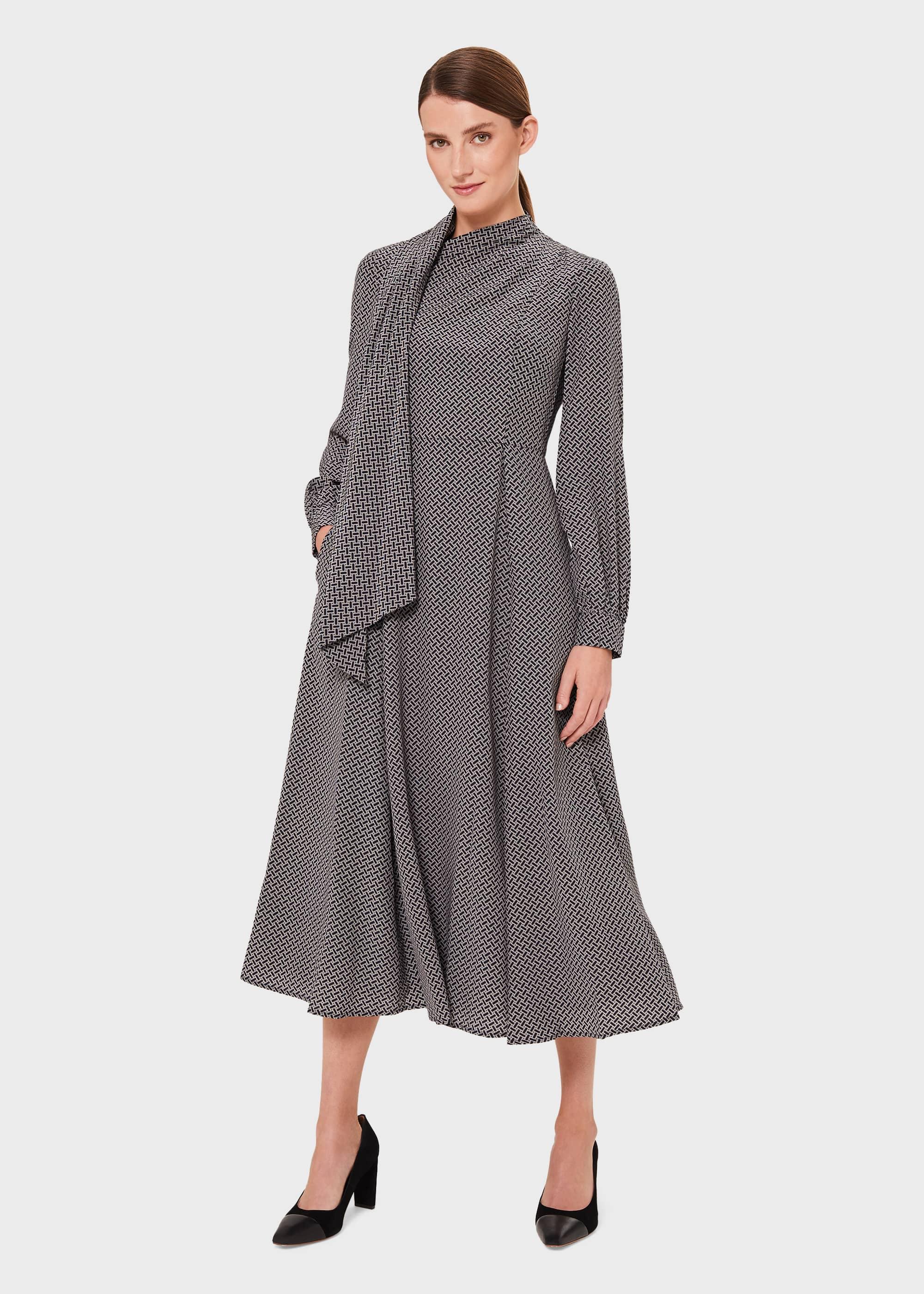 Hobbs Women Eleanora Silk Dress
