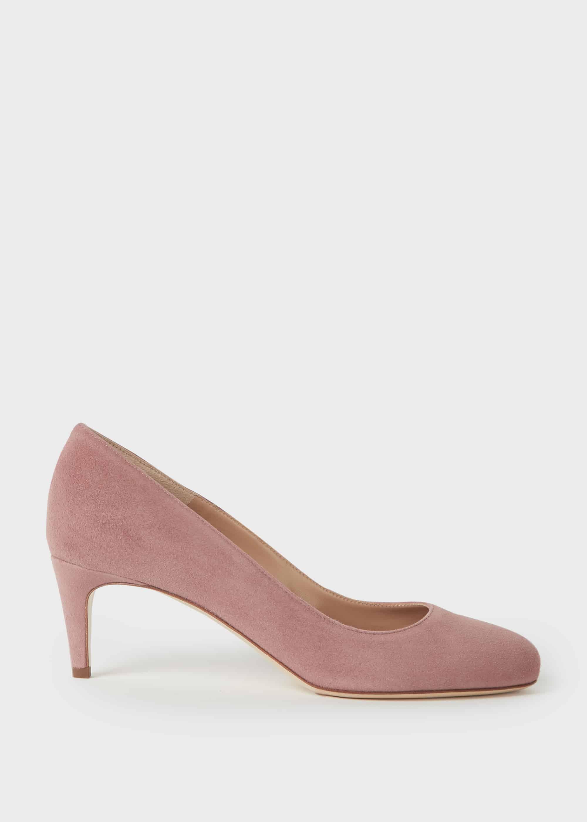 Hobbs Women Emma Suede Stiletto Court Shoes