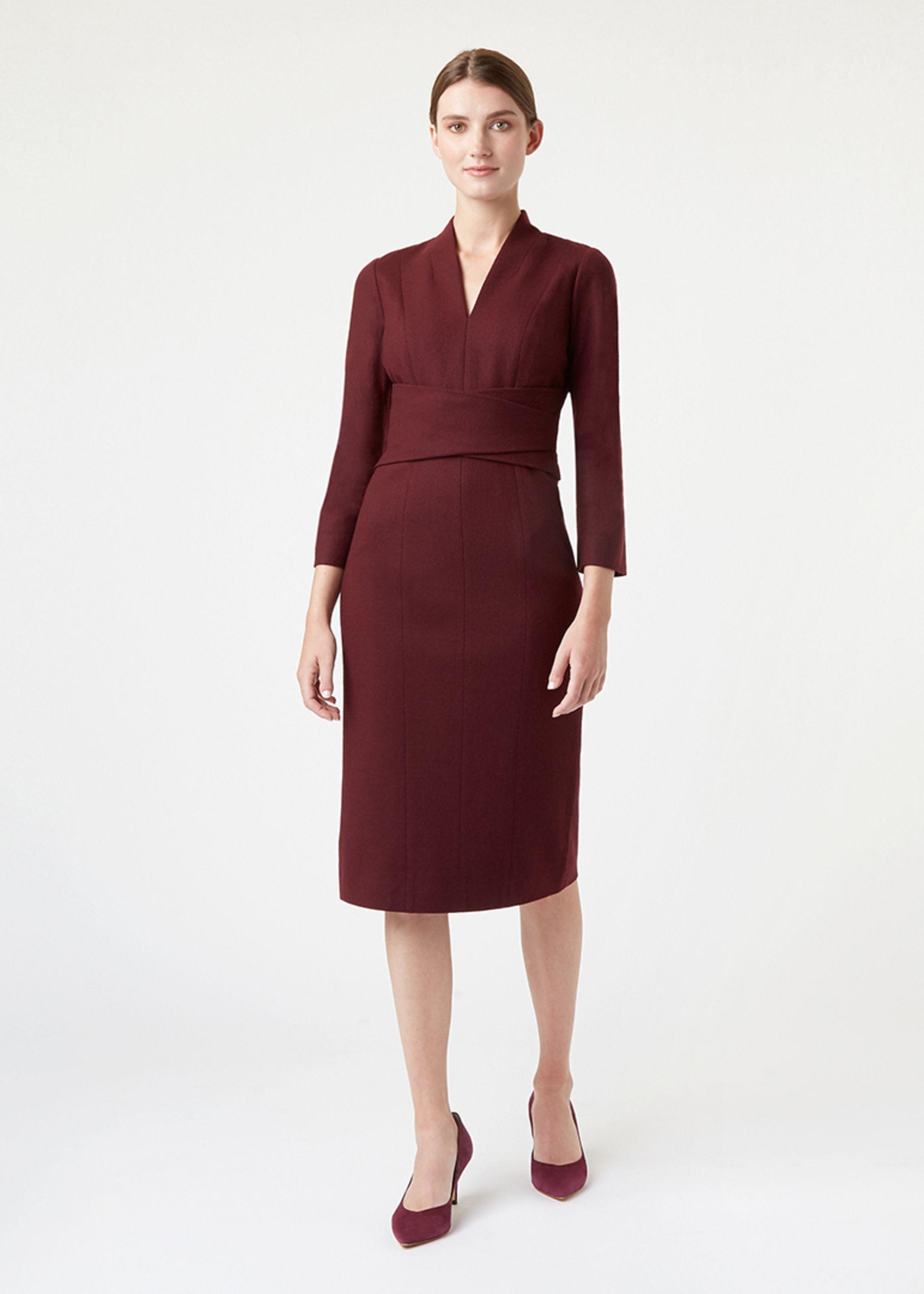 Hobbs Women Teresa Wool Dress