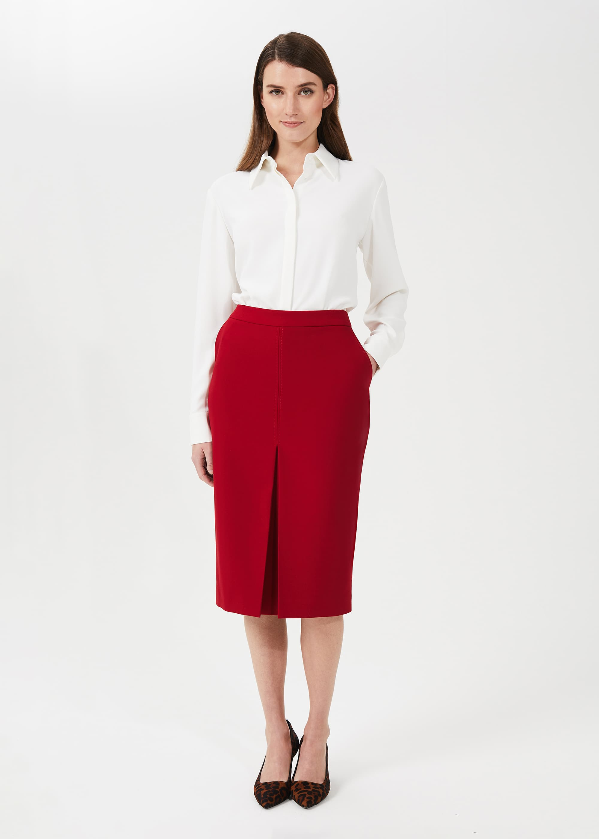 Hobbs Women Lucille Pencil Skirt With Stretch