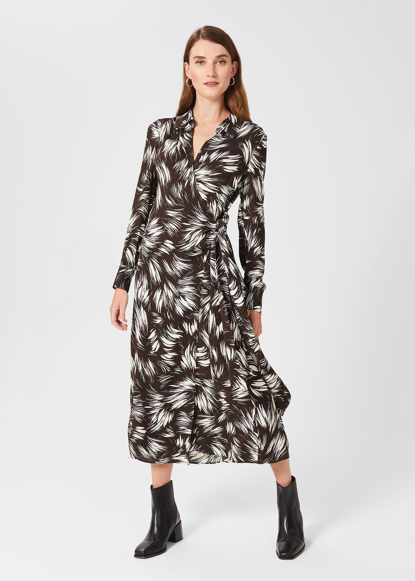 Hobbs Women Nieve Printed Dress