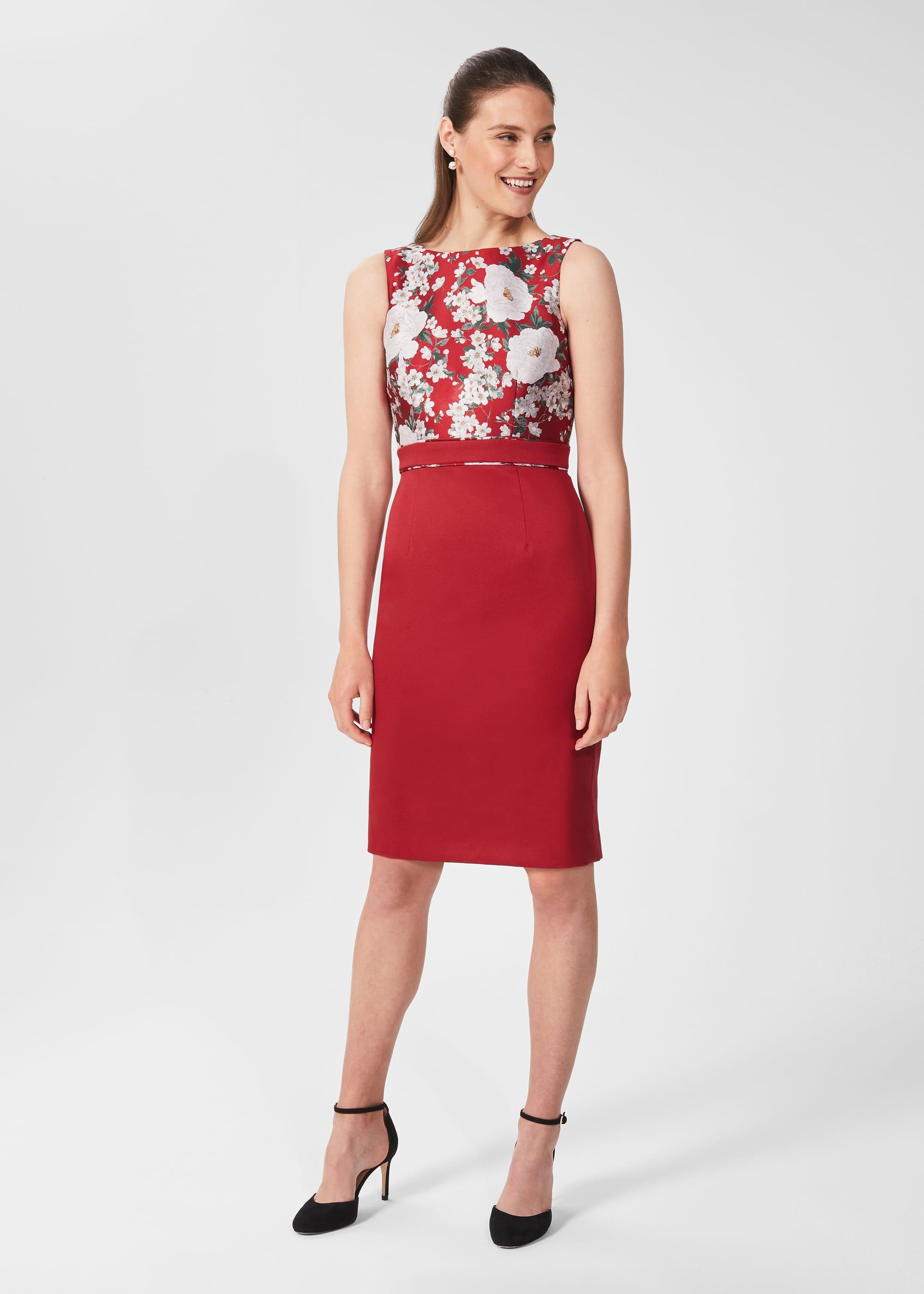 Hobbs Women Dora Jacquard Shift Dress