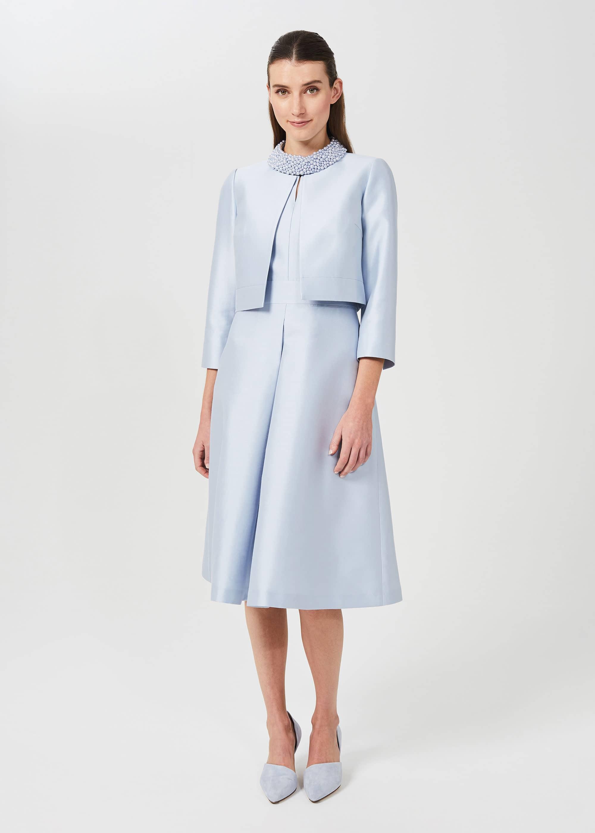 Hobbs Women Marcella Silk Wool Jacket