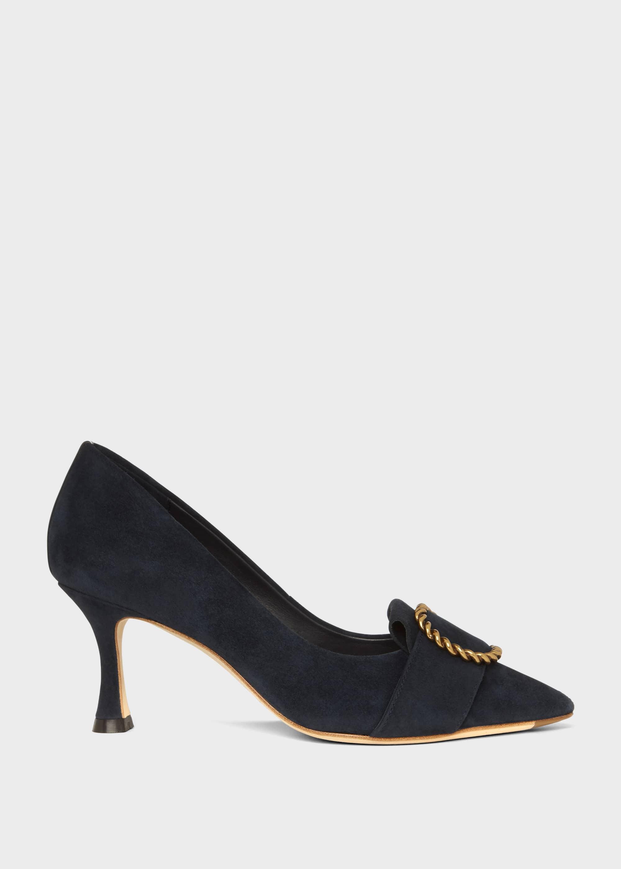 Hobbs Women Eliza Suede Court Shoes
